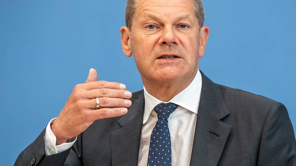 Der deutsche Finanzminister Olaf Scholz ist derzeit im Volk der mit Abstand beliebteste Kandidat für die Wahl eines neuen Bundeskanzlers in Deutschland. (Archivbild)