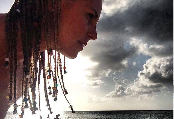 «BahamaMama» postete Heidi mit Karibikfrisur gleich selbst.