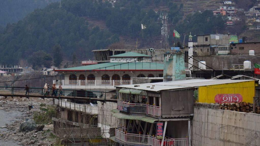 Ein Terroristencamp in der Grenzstadt Balakot im pakistanischen Teil von Kaschmir soll nach indischen Angaben Ziel eines Luftangriffs geworden sein.