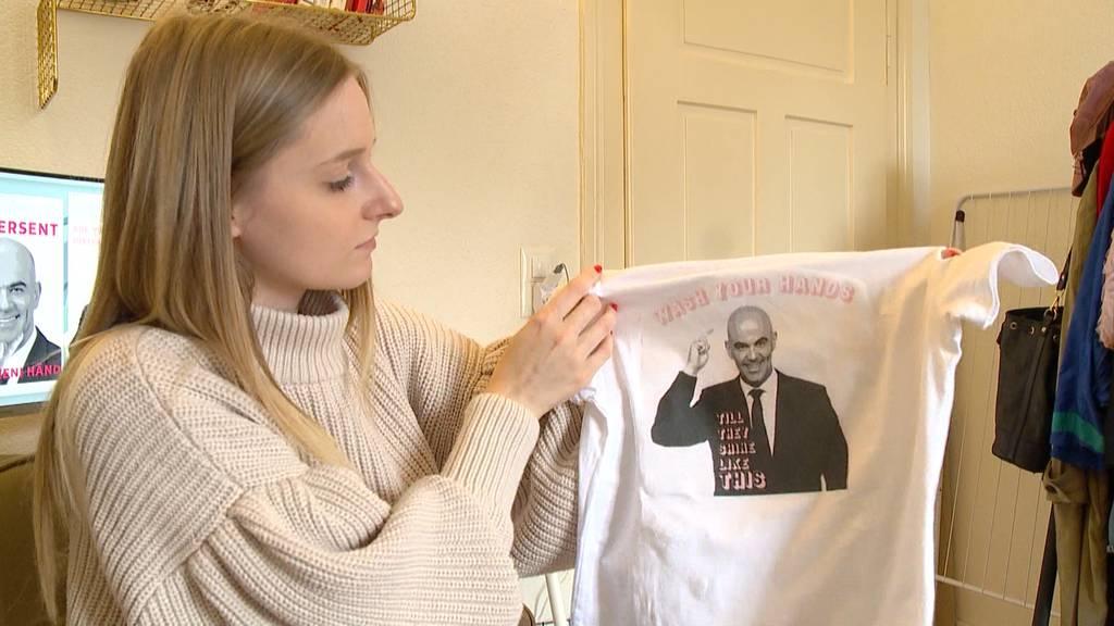 Fan-Shirt für Bundesrat Alain Berset