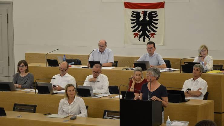 Einwohnerrätin Susanne Heuberger (SVP) kündigte ein Volksreferendum an.