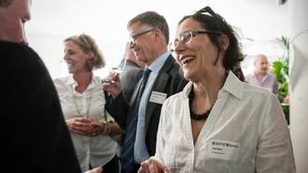 Heidi Mück, Regierungsratskandidatin Basta, die sich für die Co-Kandidatur stark macht.