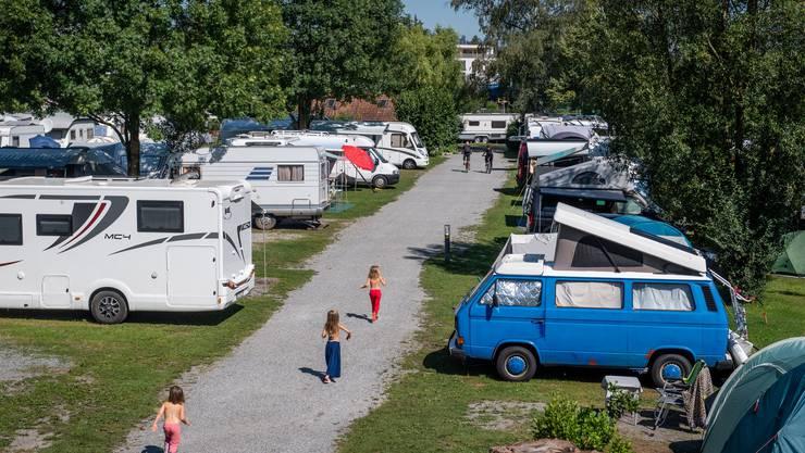 Der TCS Camping in Horw war diesen Sommer permanent Ausgebucht.