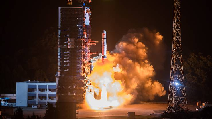 Vom Raumfahrtbahnhof Xichang aus ist am 7. Dezember 2018 ein chinesisches Raumschiff zur Rückseite des Mondes aufgebrochen. (Archivbild)