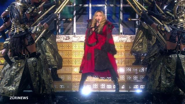 Madonna rockt Hallenstadion
