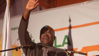 Burkina Fasos neuer Präsident Roch Marc Christian Kaboré beim Wahlsieg (Archiv)