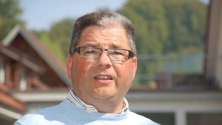 Der Gemeindeammann von Tegerfelden Erwin Baumgartner