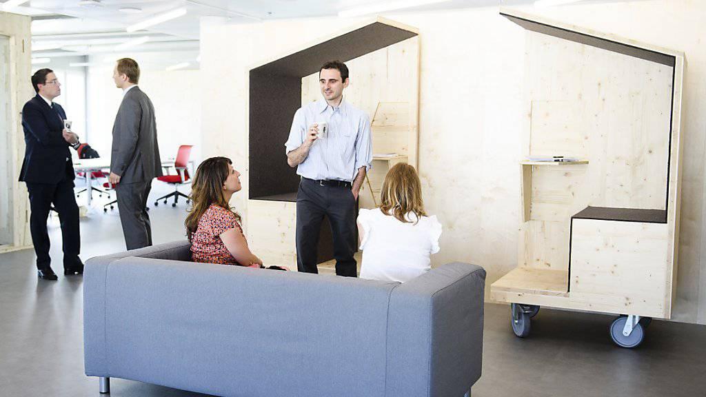 In diesen Räumlichkeiten wird das Digital Lab der Swisscom an der ETH Lausanne (EPFL) eingerichtet.