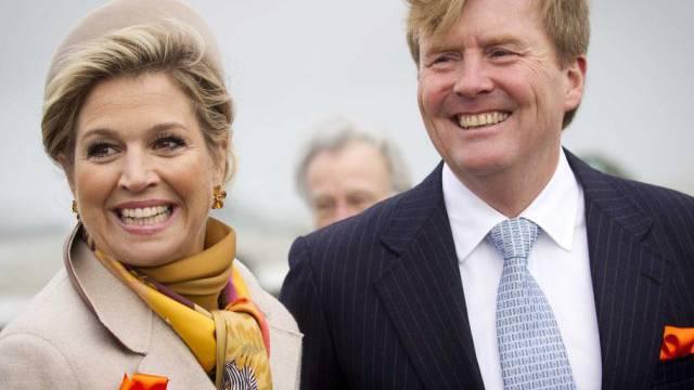 König Willem-Alexander und Königin Maxima am Samstag