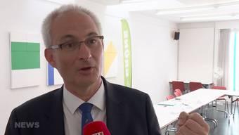 Der Berner Regierungsrat tritt nach 12 Jahren nicht mehr zur Widerwahl an. Dies kündigte er heute an einer Medienkonferenz der Grünen an.