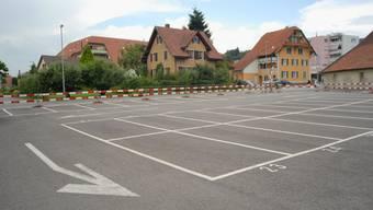 Die Lösung naht: Parkplatznot dürfte es in Wiedlisbach bald nicht mehr geben. (Archiv)