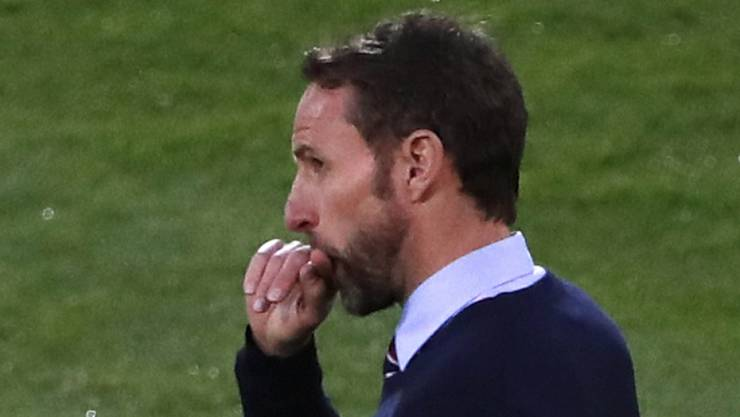 Englands Trainer Gareth Southgate enttäuscht nach der Niederlage gegen die Niederlande