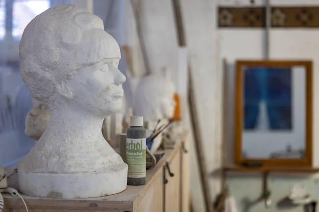 Die Anatomie faszinierte den Bildhauer.
