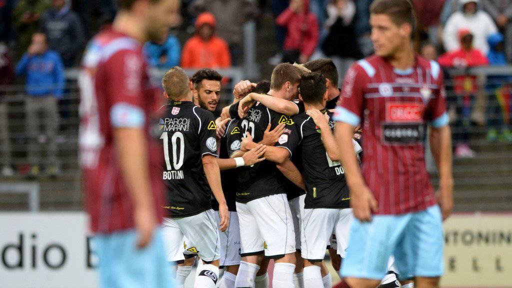 Nach viel Krampf in den Cup-Achtelfinals: der FC Lugano