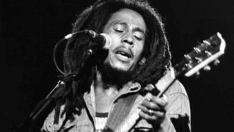 Eine Aufnahme von Bob Marley aus dem Jahr 1980 (Archiv)