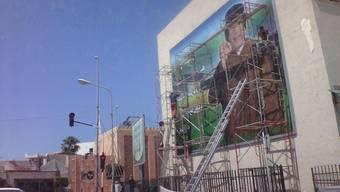 Gaddafis Gebäudekomplex Bab al-Aziziya