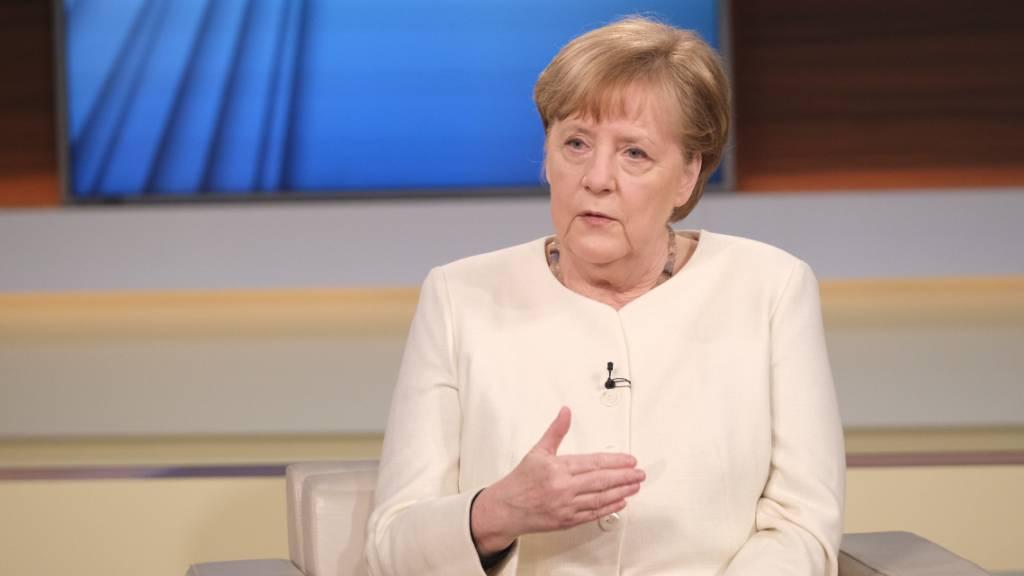 Bundeskanzlerin Angela Merkel ist zu Gast in der ARD-Talksendung «Anne Will». Foto: Wolfgang Borrs/NDR/dpa - ACHTUNG: Nur zur redaktionellen Verwendung im Zusammenhang mit der aktuellen Berichterstattung und nur mit vollständiger Nennung des vorstehenden Credits