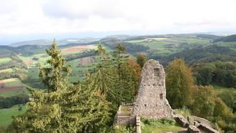 Die Ruine Farnsburg bei Ormalingen bleibt bis auf weiteres für jeglichen Publikumsverkehr gesperrt.