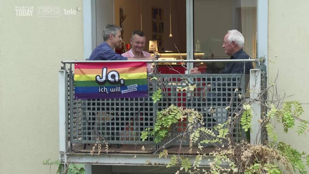 Luzerner Vater kämpft für seinen schwulen Sohn