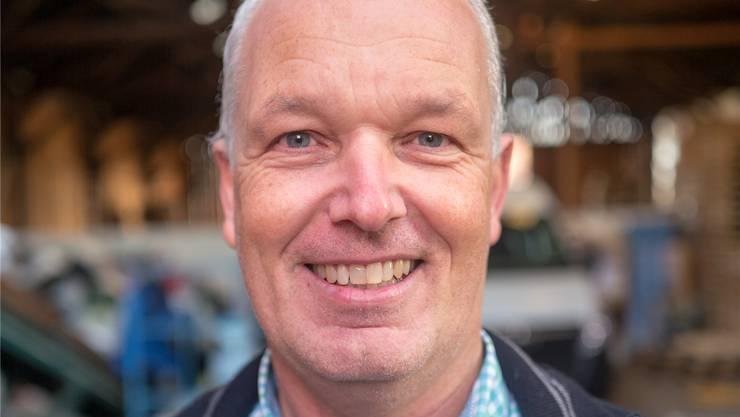 Daniel Lerch, Betriebsleiter der Stiftung Wendepunkt Oftringen.