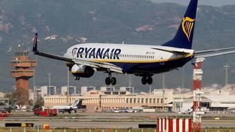 Ryanair gerät wegen dem anhaltenden Auslieferungsverbot für Boing 737 Max zunehmend in Bedrängnis. (Archivbild)