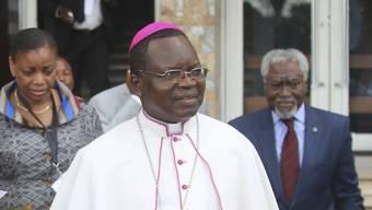 Der Kirchenvertreter Marcel Utembi vermittelt in den Gesprächen für eine Übergangsregelung in Kongo-Kinshasa