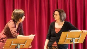 Casting für die Theateraufführung am kommenden Schlierenfest