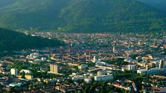 An Wochenenden ist in Freiburg im Breisgau überall Schweizerdeutsch zu hören.