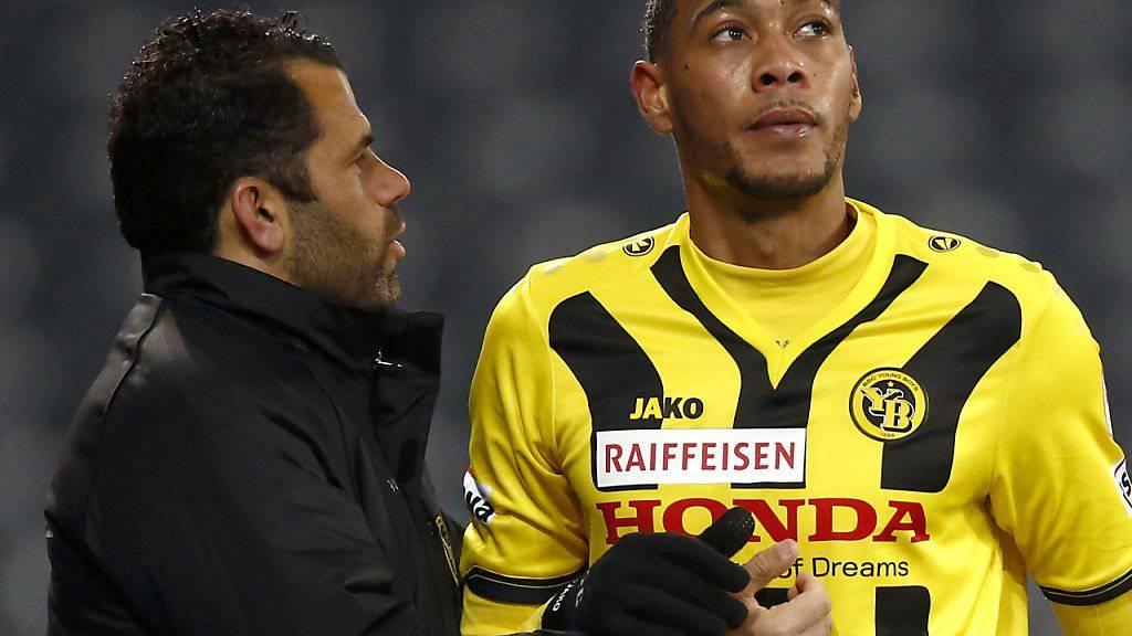 Fussballer Guillaume Hoarau ist zwar derzeit verletzt, ist aber als Hobby-Sänger im Einsatz. (Archivbild)