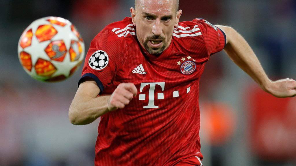 Der langjährige Bayern-Spieler Franck Ribéry setzt seine Karriere in Italien fort