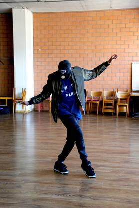 Sieben Stunden trainiert der Tänzer derzeit