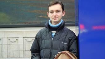 Ivan Duchnytsch will sein Violin- und Orgelstudium zügig beenden.