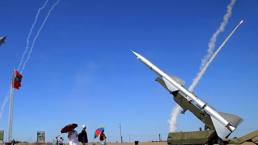 Laut den USA arbeitet Russland seit 2014 an einem neuen System für nukleare Mittelstreckenraketen. (Symbolbild)