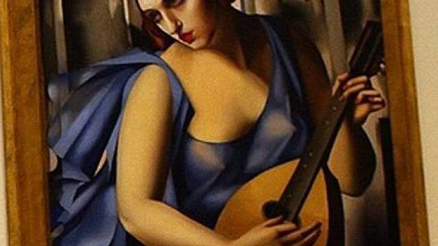 Die Musikerin von de Lempicka (Archiv)