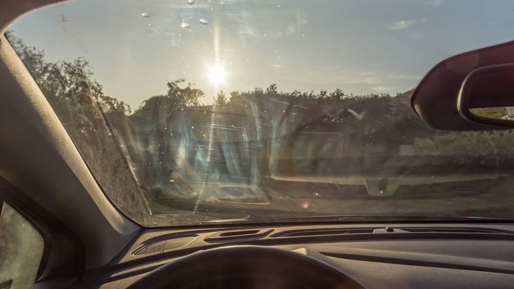 Sonne Hitze Auto