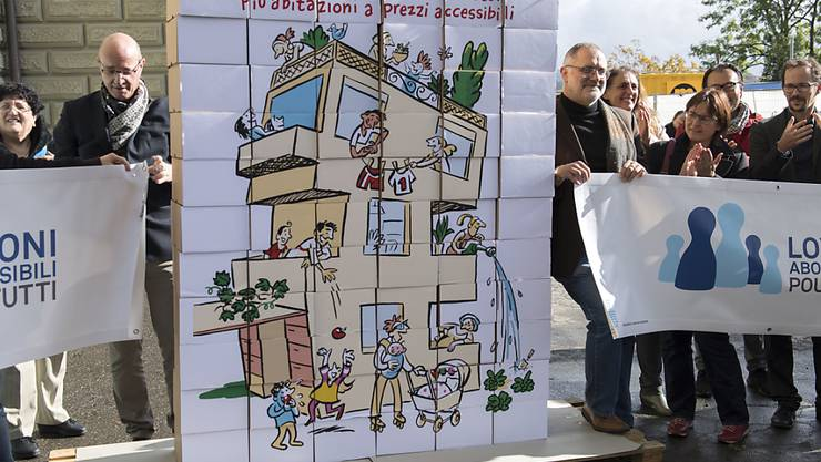 Vor drei Jahren wurde die Initiative für mehr bezahlbare Wohnungen eingereicht. Nun fassen CVP und GLP die Parolen dazu. (Archivbild)