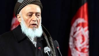 Rabbani war 1996 von den Taliban aus dem Präsidentenamt gejagt worden (Archiv)