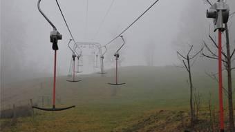 Diesen Winter lag noch nie genügend Schnee für die Skilifte in Langenbruck.