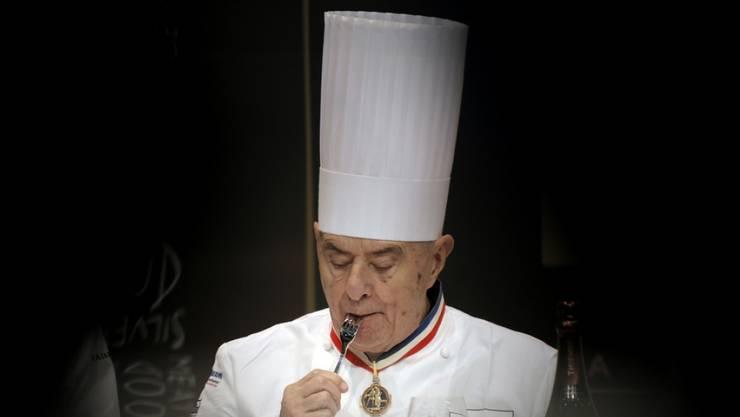 Der französische Spitzenkoch Paul Bocuse ist tot. (Archiv, 2013)