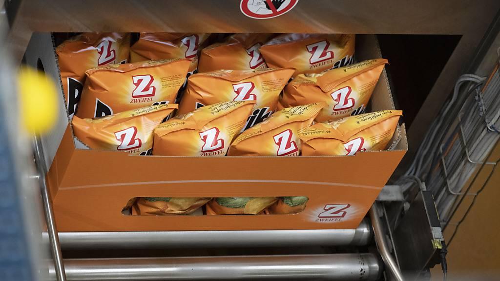 Trotz einer mageren Kartoffelernte rechnet Zweifel Chips im Jahr 2021 wieder mit einem Rekordumsatz. (Archivbild)