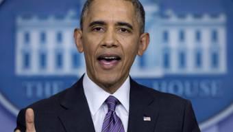 US-Präsident Barack Obama spricht im Weissen Haus (Archiv)