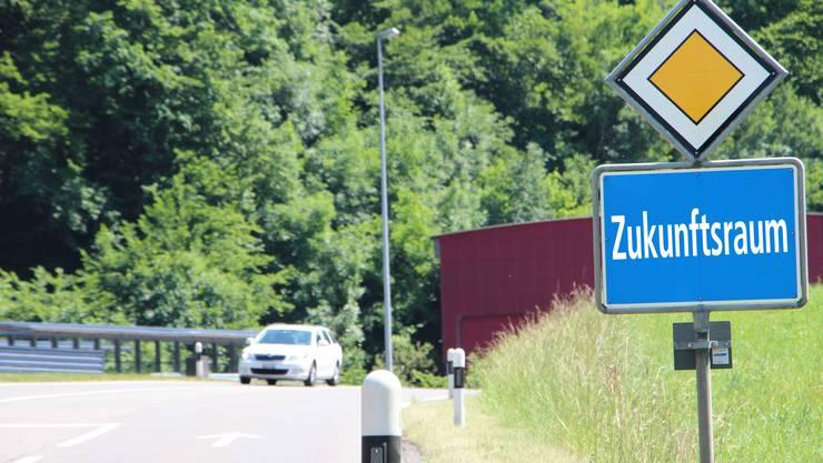 Im Juni sollten für den Zukunftsraum wichtige Entscheide fallen. Im Bild: Die Einfahrt nach Densbüren. (Symbolbild)