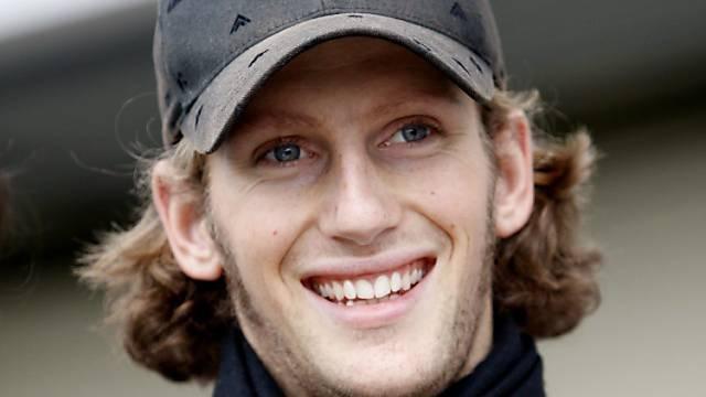 Podestplatz für Romain Grosjean