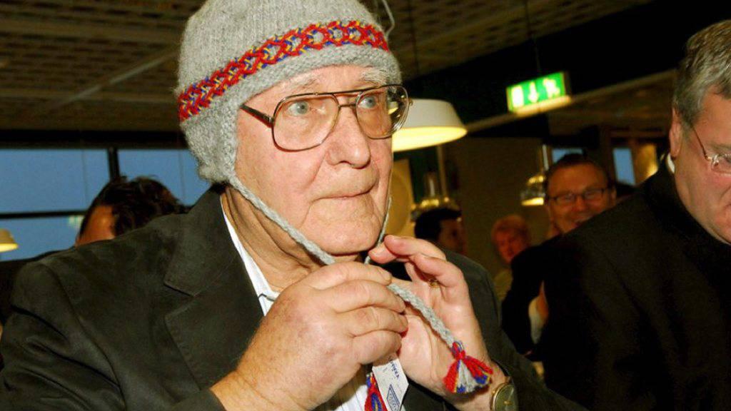 Auch diese traditionelle Mütze stammt wohl vom Flohmarkt: Ingvar Kamprad (Archiv)