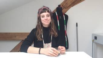 Flurina Vögeli (25) hat ihre Passion zum Beruf machen können: Mode-Design.