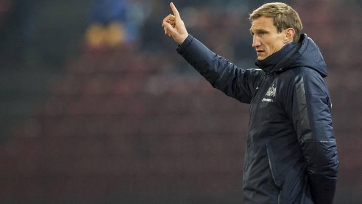 Sami Hyypiä steht mit dem FCZ vor der entscheidenden Saisonphase