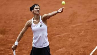 Voll konzentriert: Viktorija Golubic erreichte in Gstaad die Viertelfinals