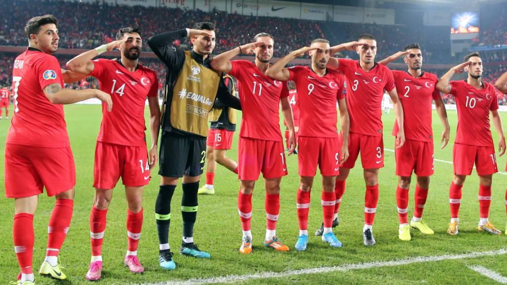 UEFA leitet nach türkischem Torjubel Verfahren ein