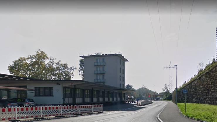 Der Unfall passierte am  Grenzübergang Weil-Otterbach/Basel.