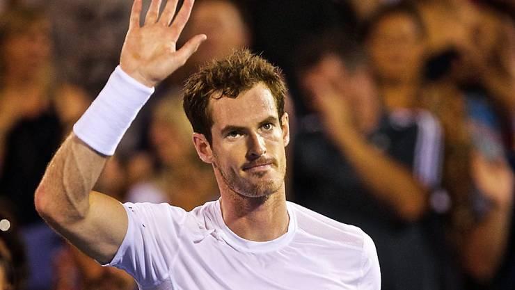 Überzeugte bei seinen bisherigen Auftritten in Montreal: Andy Murray